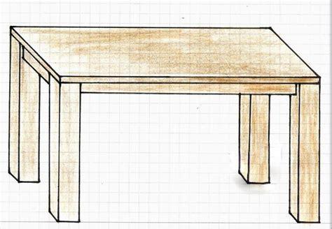 Holztisch selber bauen  Einfacher Holztisch Bauanleitung