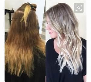 Ansatz Färben Blond : hellblonde blonde haare mit orange r tlichen ansatz aschblond f rben blond coloration ~ Frokenaadalensverden.com Haus und Dekorationen