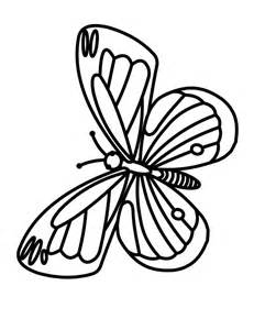 Free Printable Butterflies Coloring Page