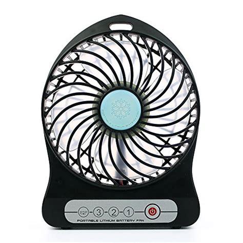 ozark trail 10 battery operated adjustable portable fan koopower 3 speed adjustable usb mini desktop fan
