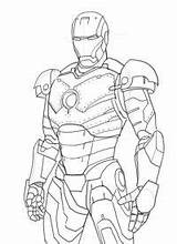 Iron Coloring Colouring Drawing Printable Draw Mk Suit Head Avengers Google Techniques Marvel Quoteko Superhero Sketch Ironman Illustration Armor Cartoon sketch template