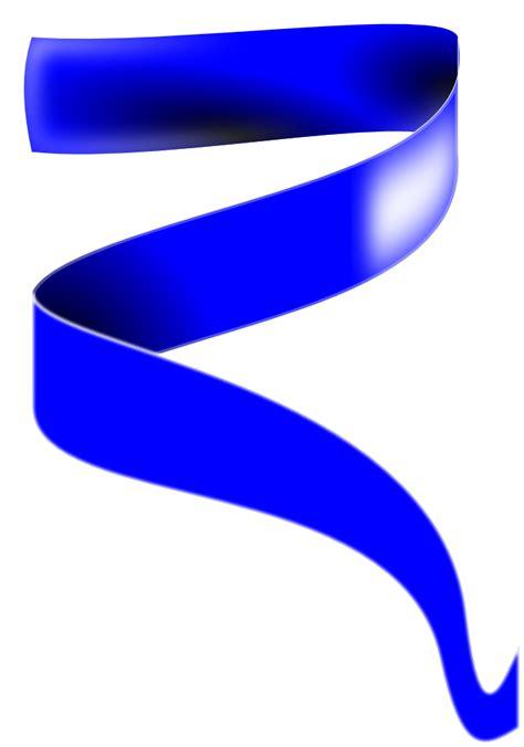 Blue Ribbon Clip Blue Ribbon Free Images At Clker Vector Clip