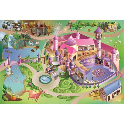 tapis de jeu ch 226 teau princesses 100 x 150 cm 11228 e2 achat vente tapis et coussin