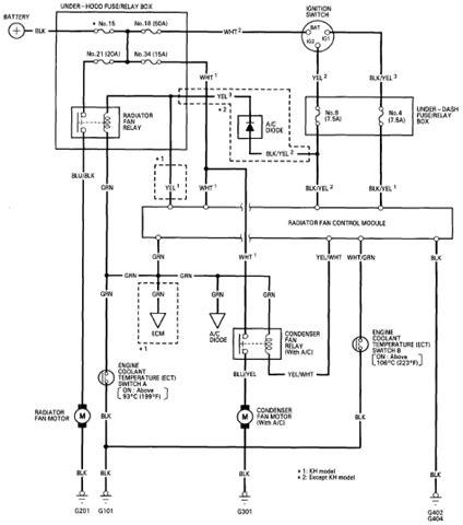 Honda Accord Fan Control Wiring Diagram Hondaaccordmaestro