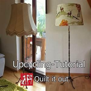 Lampenschirm Für Alte Stehlampe : lampenschirm upcycling tutorial ~ A.2002-acura-tl-radio.info Haus und Dekorationen