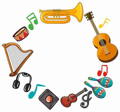 Instruments Instrumentos Musicais Musicales Musical Musique Template