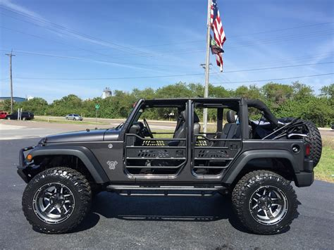 jeep wrangler custom lift 2016 jeep wrangler unlimited custom lifted leather florida