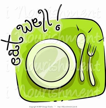 Clipart Lunch Break Icon Sign Illustration Cartoon