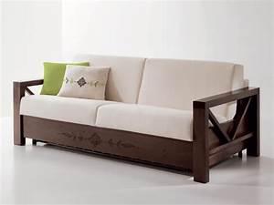 Sofa Mit Holzrahmen : bequemes sofa mit holzrahmen kundengerecht idfdesign ~ Frokenaadalensverden.com Haus und Dekorationen