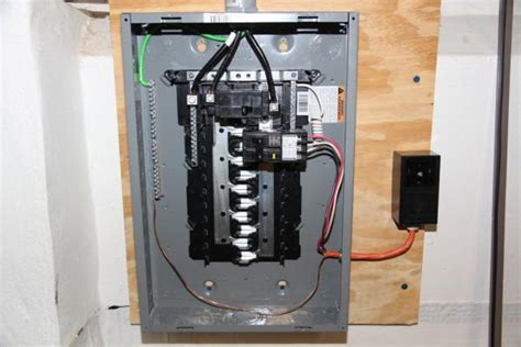 Detached Garage Sub Panel Wiring by Wiring A Subpanel In A Detached Garage Diagrams