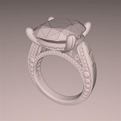 jewelry design rendering  real time fluidray rt software