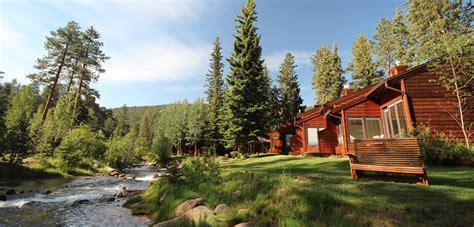 cabins in estes park top cabins on river in estes park