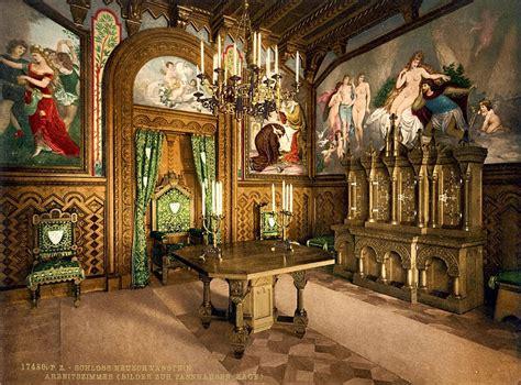 neuschwanstein castle interior luxury design neuschwanstein cinderella castle