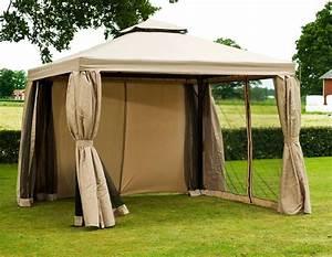 Pavillon 3 X 3 : luxus pavillon 3x3 meter beige ~ Orissabook.com Haus und Dekorationen
