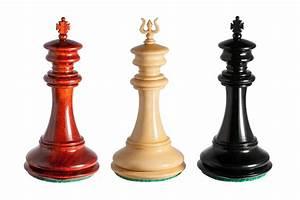 Apollo, 4, 4, U0026quot, Luxury, Chess, Pieces, In, Ebony, Padauk, Boxwood