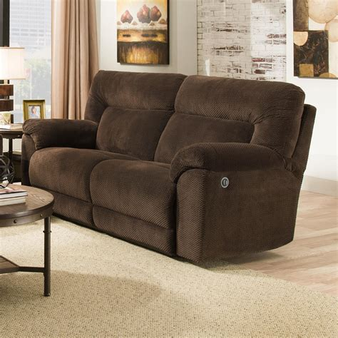 Simmons Loveseat Recliner by Simmons Upholstery 50570 50570powersofa Casual Power
