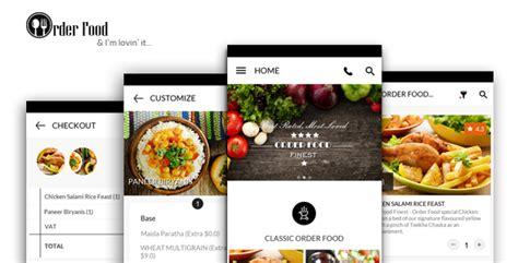 mobile app design  restaurant order food foodies