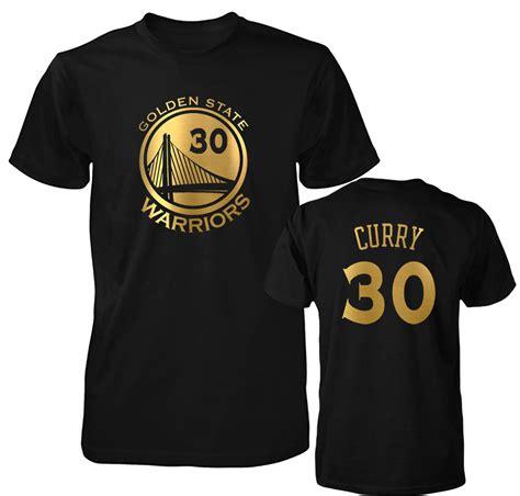 golden state warriors stephen curry gold print jersey