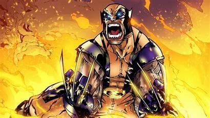 Wolverine Marvel Comic Anime Comics Fire Superhero