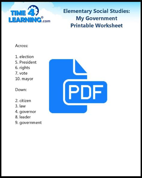 28 elementary social studies worksheets pdf 2nd