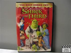Shrek the Third (DVD, 2007, Full Screen Version ...