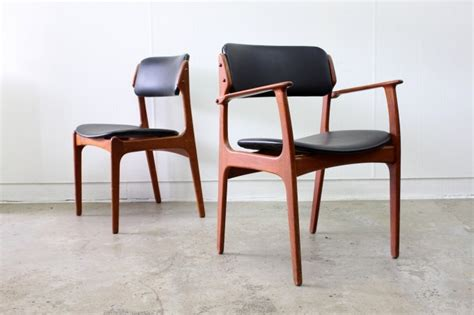 Erik Buch Dining Chairs X6  The Vintage Shop