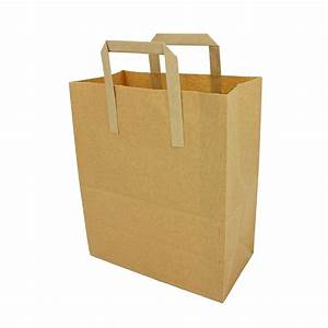 Brown Paper Carrier Bags - Paper Carrier Bags - Paper Bags ...