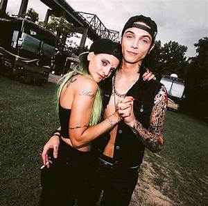 Andy and Juju at Warped Tour 2015 | Andy Biersack and ...