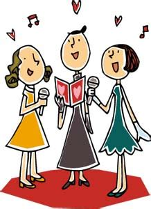 chant d entrã e mariage clipart chant image chant gif anim chant