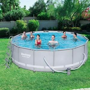 Bestway Pool Set : bestway 14ft power steel frame pool set all round fun ~ Eleganceandgraceweddings.com Haus und Dekorationen