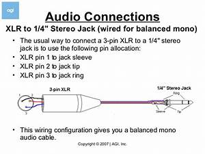 Xlr To 1 4 Stereo Wiring Diagram  U2013 Wiring Diagram