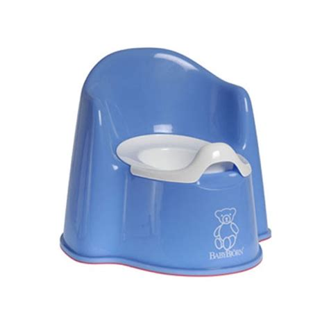 The Potty Chair by Baby Bjorn Potty Chair Blue Potty Concepts