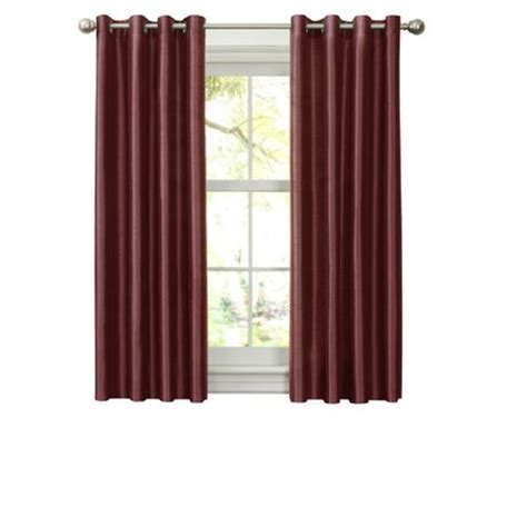 Curtains At Walmartca by Faux Silk Thermal Lined Grommet Panel Walmart Ca