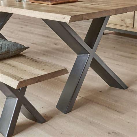 dimension meuble cuisine table de salle à manger moderne extensible en chêne massif