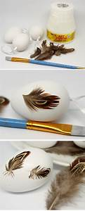 Türen Bekleben Selber Machen : diy ostereier mit federn bekleben schnelle osterdekoration selber machen basteln ostern ~ Frokenaadalensverden.com Haus und Dekorationen