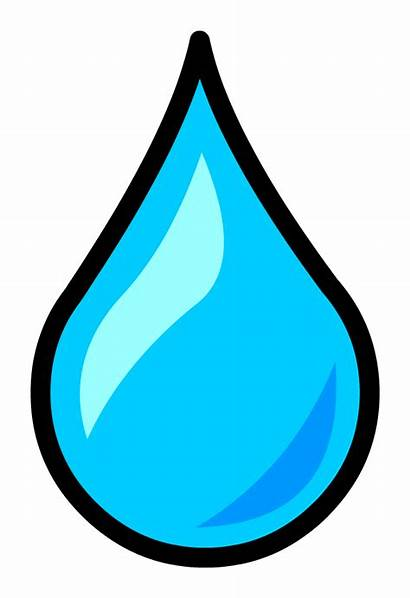 Water Cliparts Clipart Droplets Drop Icon