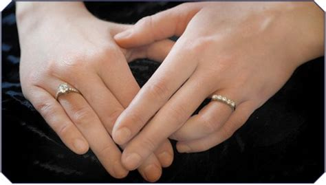 why wedding rings are worn on the fourth finger of the