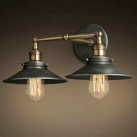 Free Shipping Cottage Vintage Country Style Wall Lamps 2