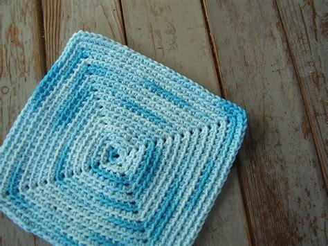 crochet washcloth instructions free pattern crocheted square washcloth freshstitches