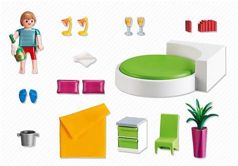 chambre parents playmobil playmobil 5583 chambre avec lit rond achat vente