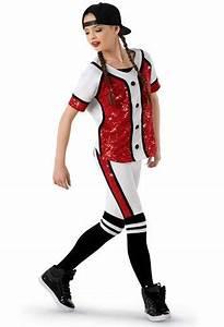 Weissman®   Hip-Hop Baseball Uniform Costume   High School ...