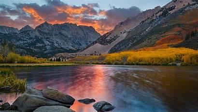 Desktop Autumn Mountain Landscape Backgrounds Background Wallpapers