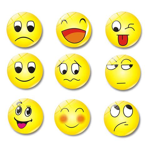 pc glass dome  cute smile emoji face expressions
