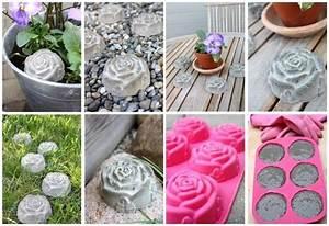 Zement Zum Basteln : kleine rosen aus beton selber machen basteln mit den ~ Lizthompson.info Haus und Dekorationen