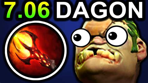 magic dagon pudge dota 2 patch 7 06 new meta pro gameplay youtube