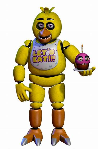 Fnaf Chica Freddy Nights Five Chicken Characters
