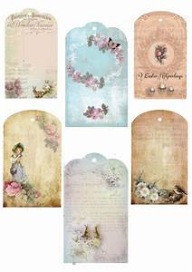 Free Printable Vintage French Gift Tags | Craft Ideas ...