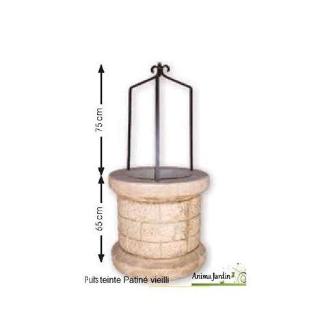 puits en reconstitu 233 e puits de jardin 70 cm auvergnat achat vente
