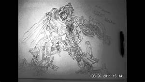 Transformers Blackout Drawing