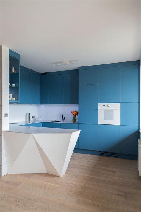 cozinha azul  inspiracoes de decoracao